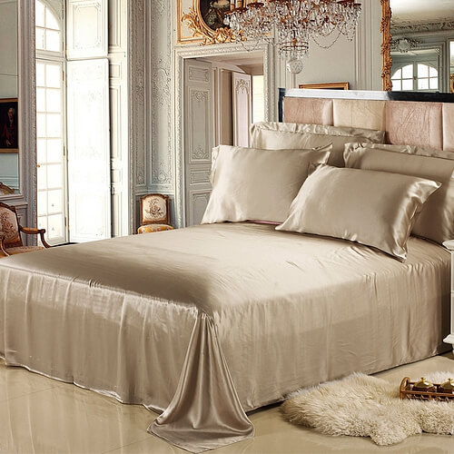25 Momme Luxurious Pure Silk Flat Sheet
