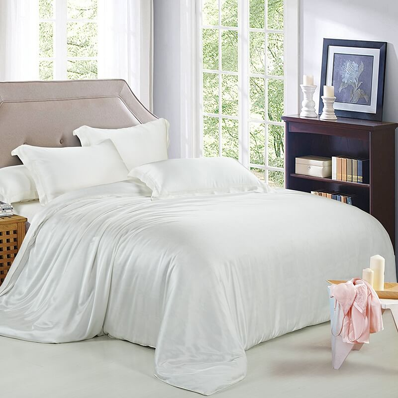 19 Momme Pure Mulberry Silk Duvet Cover