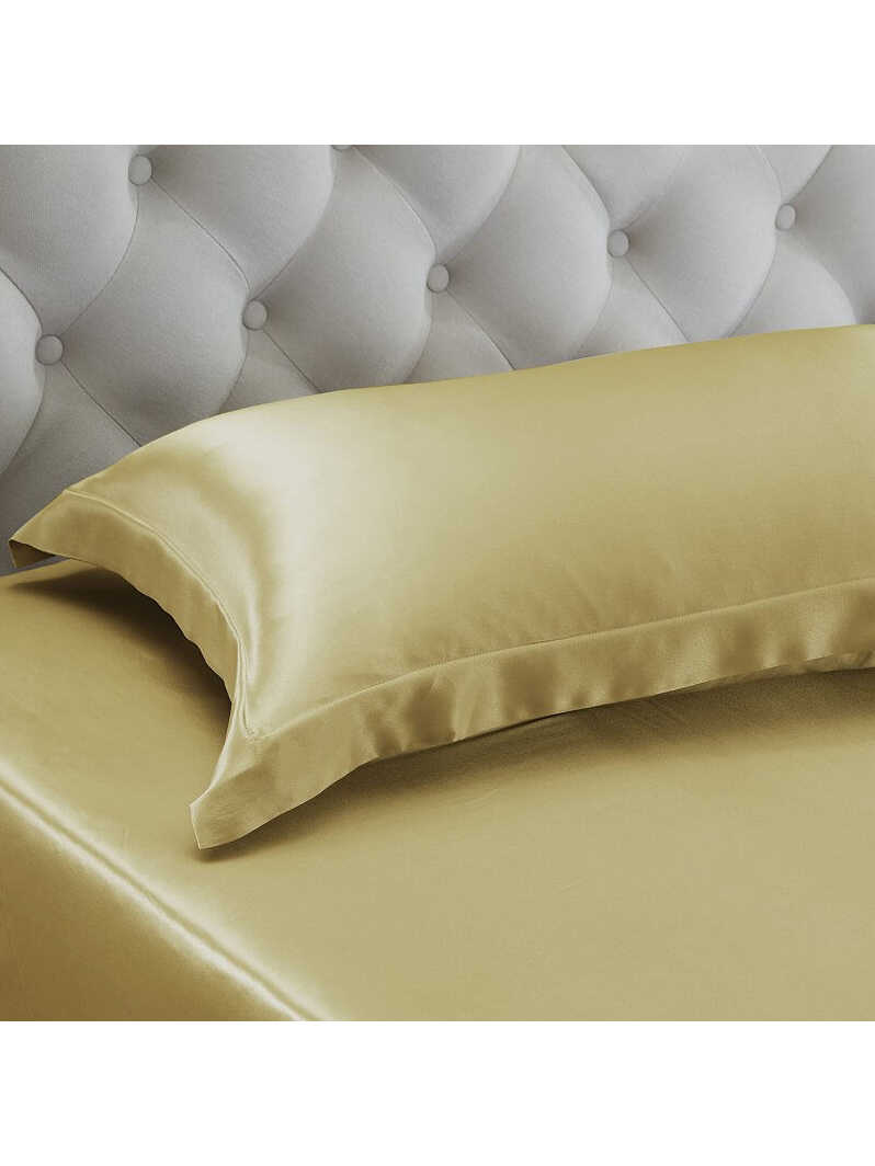 19 Momme Oxford Envelope Closure Silk Pillowcase