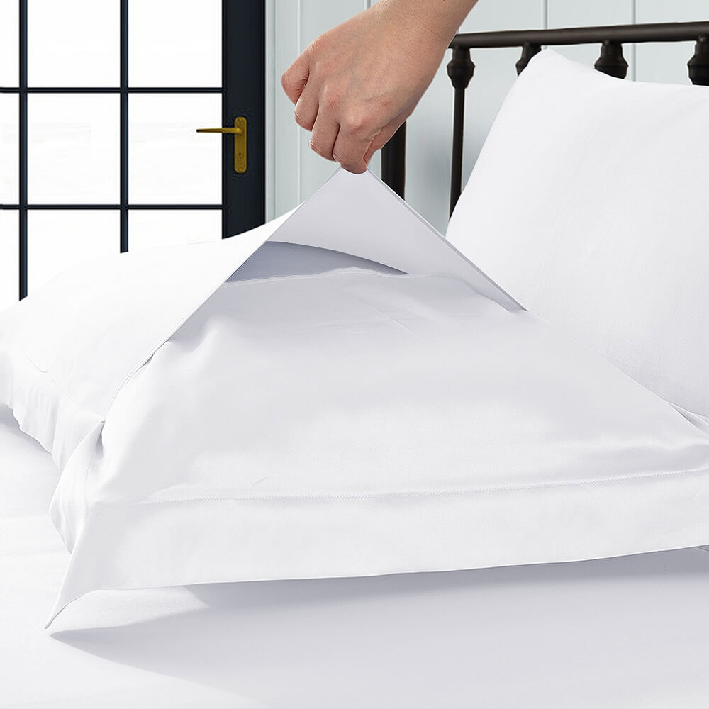 22 Momme Oxford Silk Pillowcase