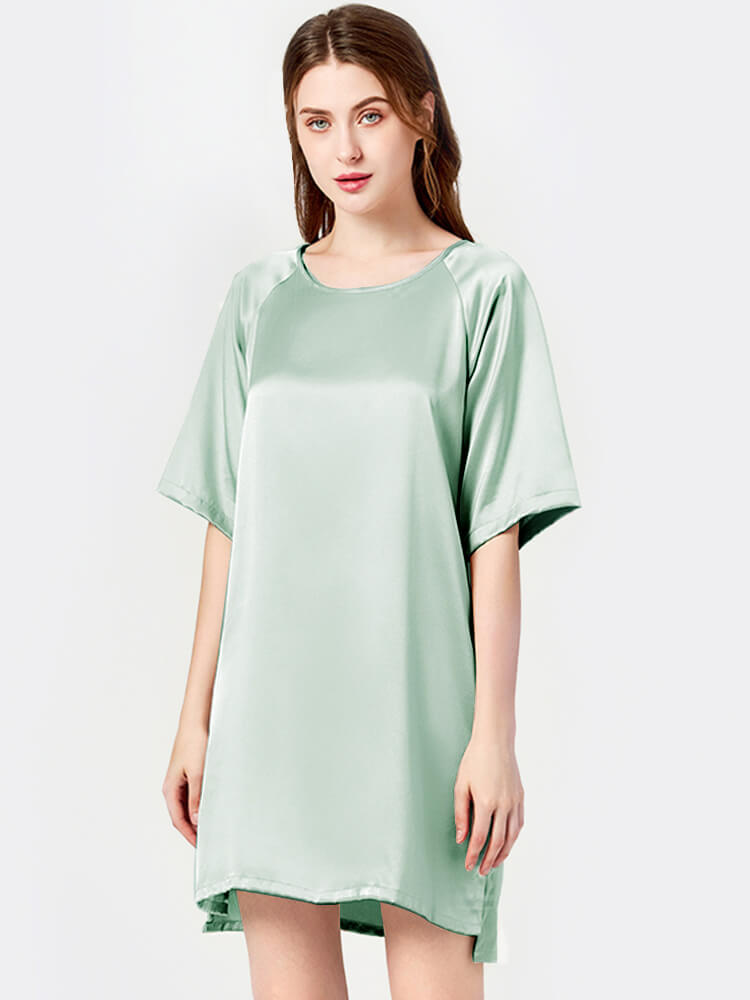 19 Momme Graceful Silk Nightgown