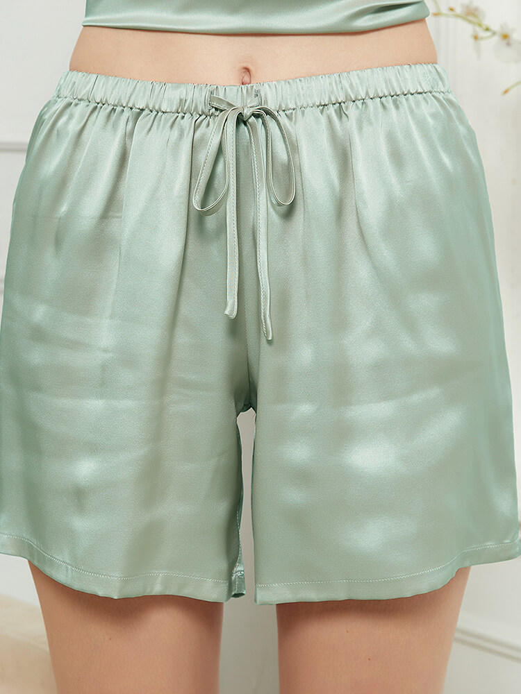19 Momme Comfy Tank Top Silk Camisole Set