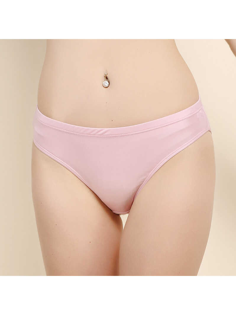 Pure Mulberry Silk Knitted Seamless Womens Panty
