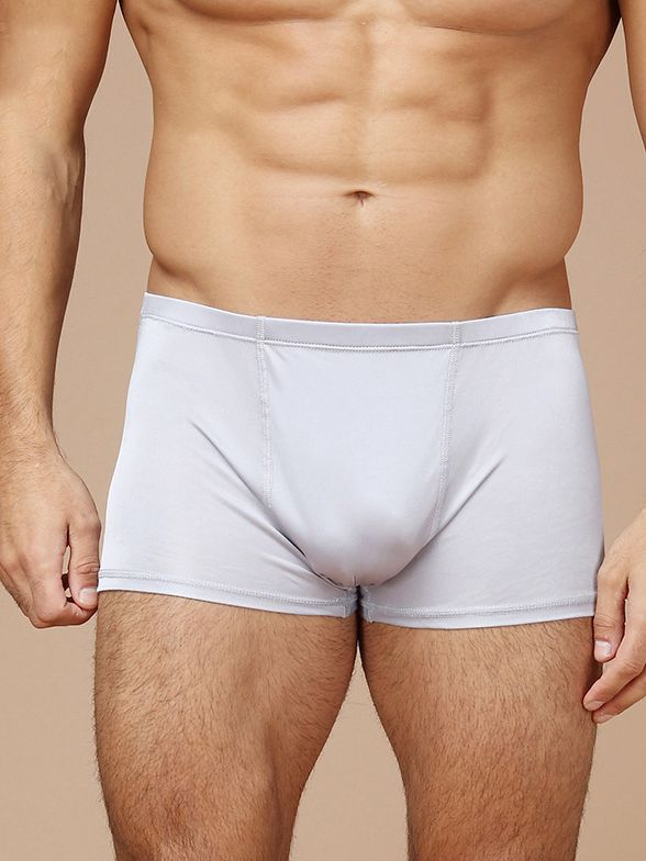 Men's Breathable Comfy Silk Boxers Underwear